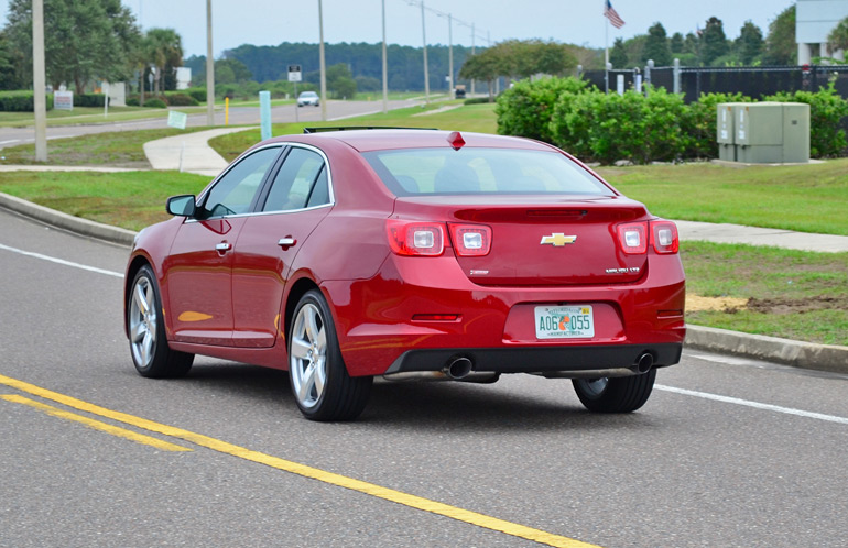 2014 Chevy Malibu Ltz Turbo Drive 3