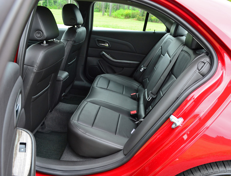 2014 Chevy Malibu Ltz Turbo Rear Seats