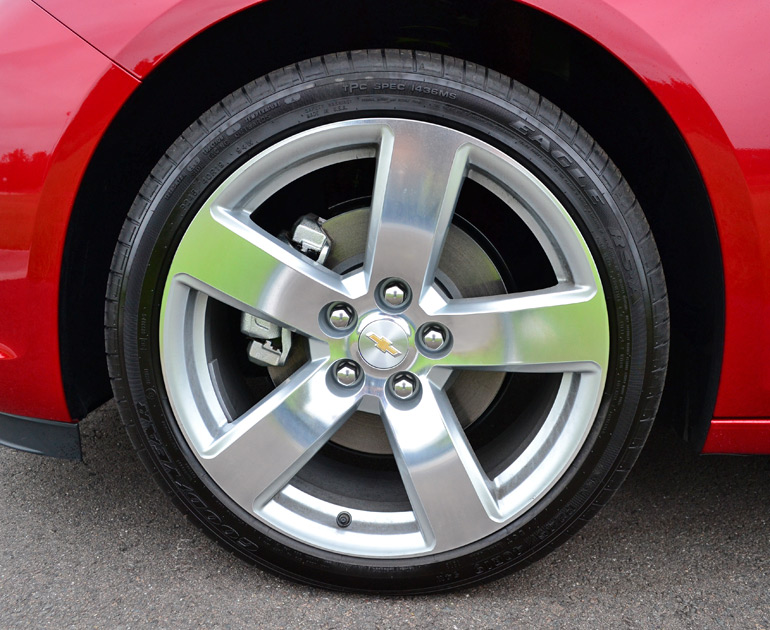 Chevy Malibu Ltz Turbo Wheel Tire