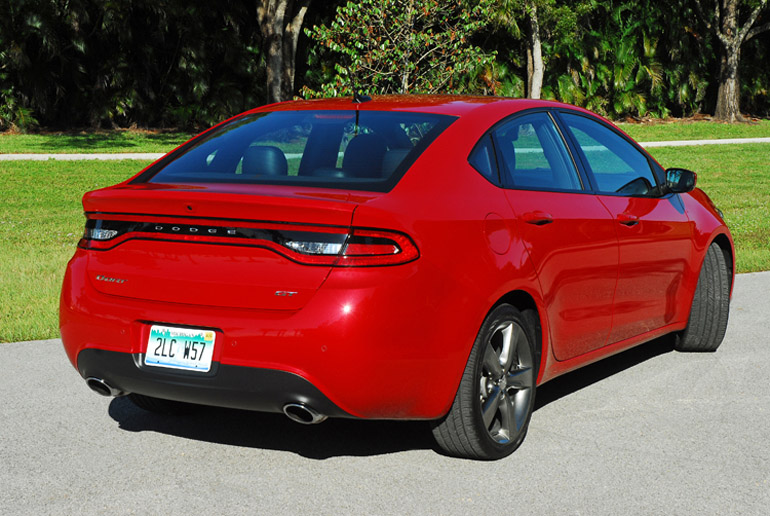 2013 Dodge Dart GT Beauty Rear Done Small