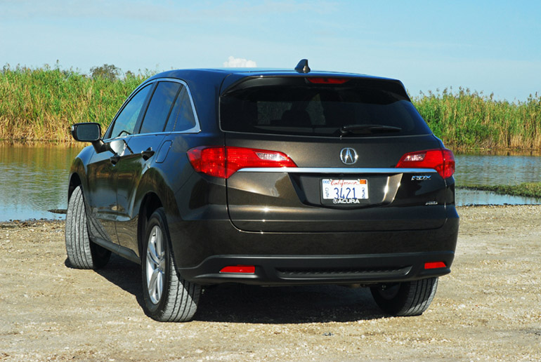 2014 Acura RDX AWD Adv Beauty Rear Done Small