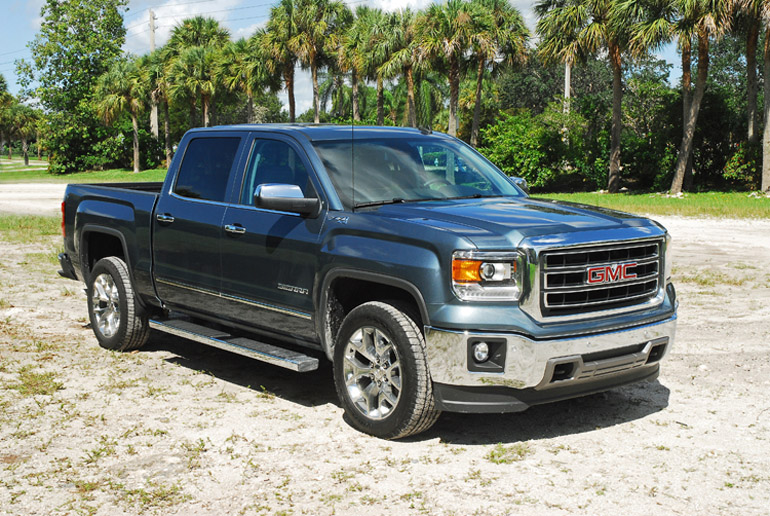 2014 GMC Sierra SLT 4X4 Z71 Beauty Left Done Small