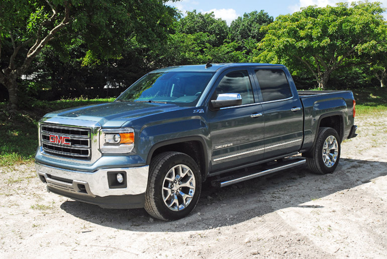 2014 gmc sierra slt 4x4 z71 beauty right wide done small. Black Bedroom Furniture Sets. Home Design Ideas