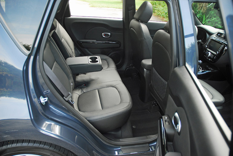 2014 Kia SOUL Back Seats Done Small