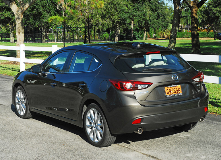 2014 mazda 3 grand touring beauty rear done small. Black Bedroom Furniture Sets. Home Design Ideas