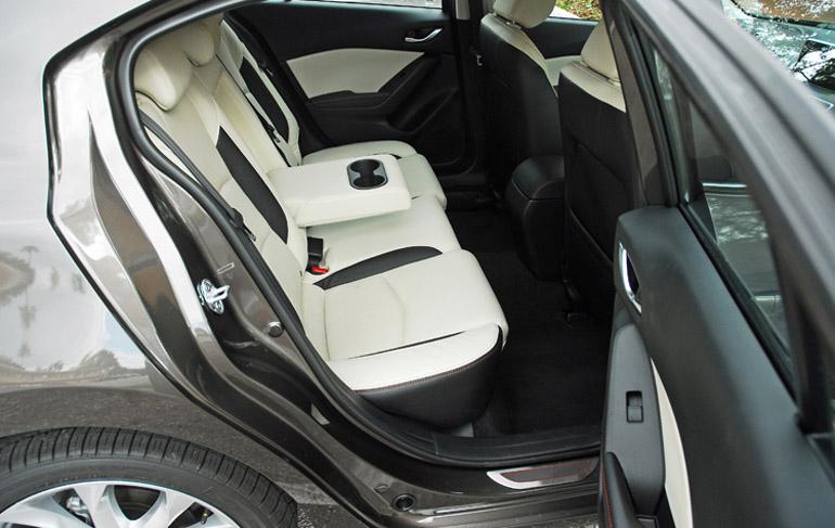 2014 Mazda 3 Grand Touring Rear Seats Done Small