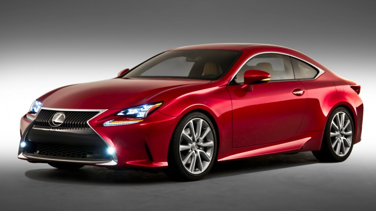 2015 Lexus RC Stuns Some With True Sports-Coupe Appeal