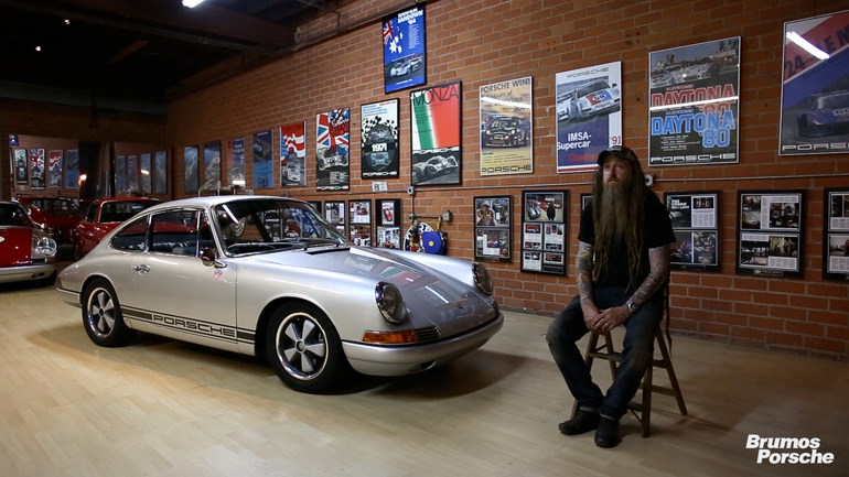 Video: Magnus Walker's Brumos Connection Pays Homage to Porsche 911 50th Anniversary