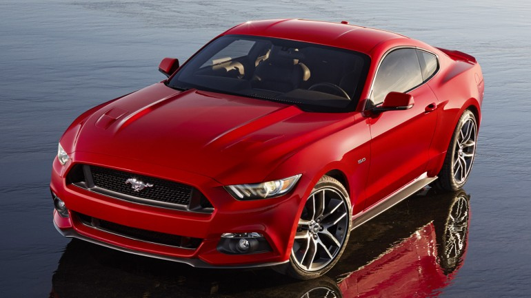2015 Ford Mustang Gets Official: w/Images & Video