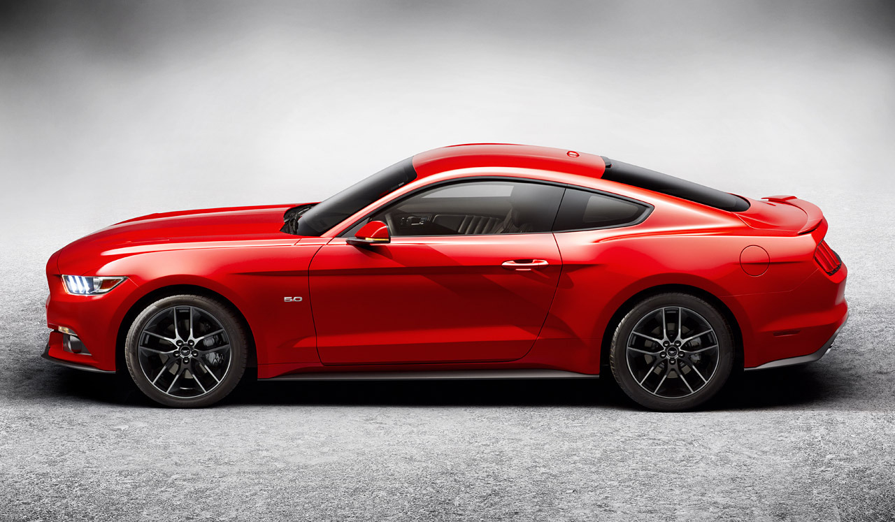 2015 ford mustang gets official w images video. Black Bedroom Furniture Sets. Home Design Ideas