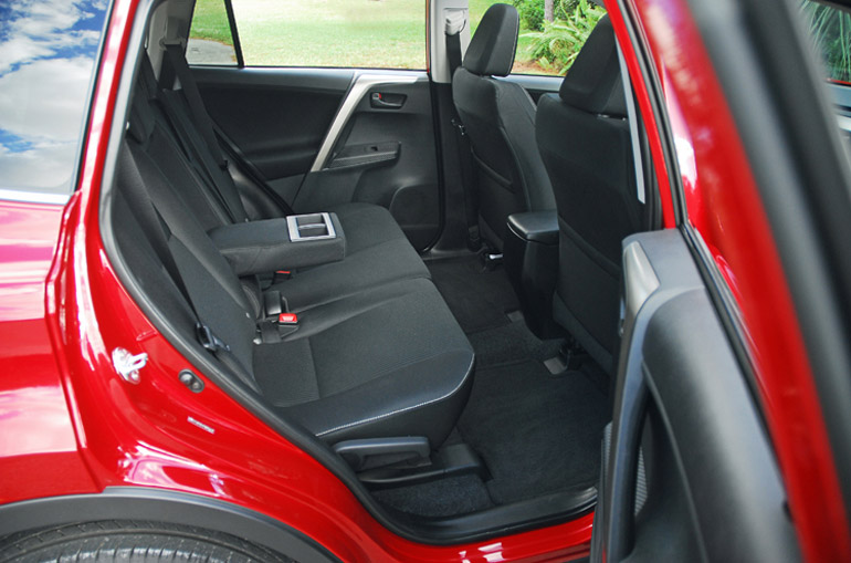 2013 Toyota RAV 4 XLE AWD Back Seats Done Small