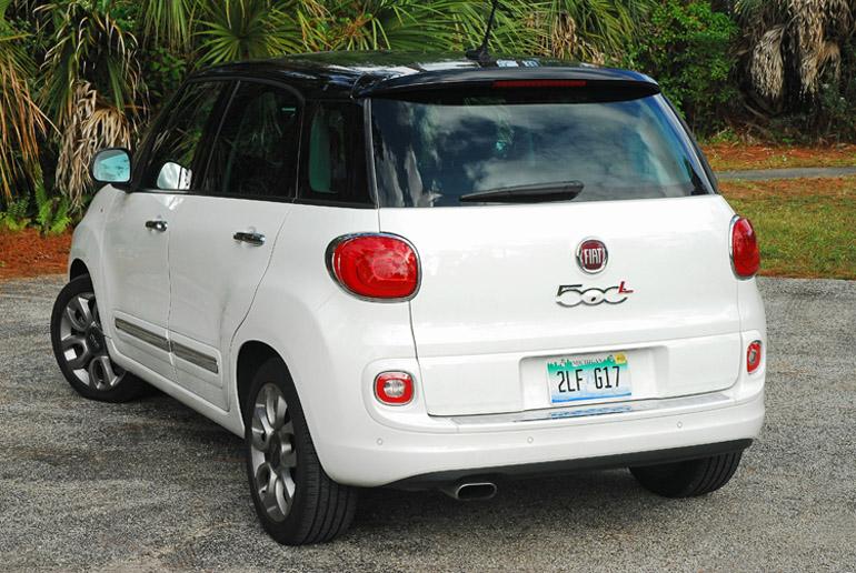 2014 Fiat 500L Beauty Rear Done Small