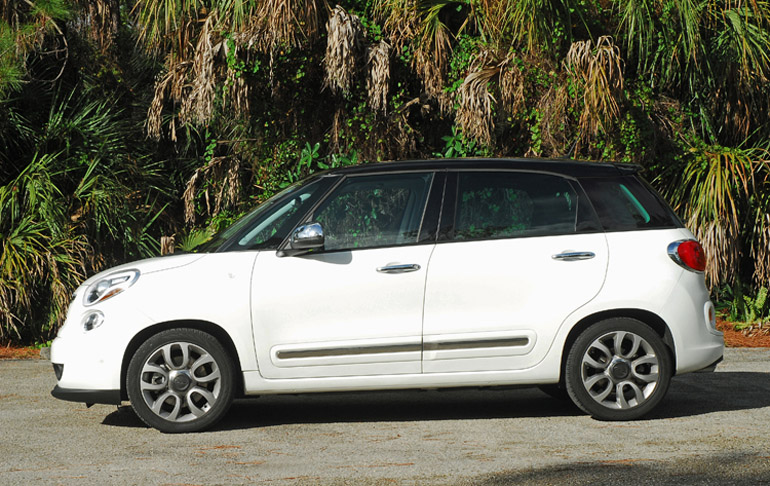 2014 Fiat 500L Beauty Side Done Small