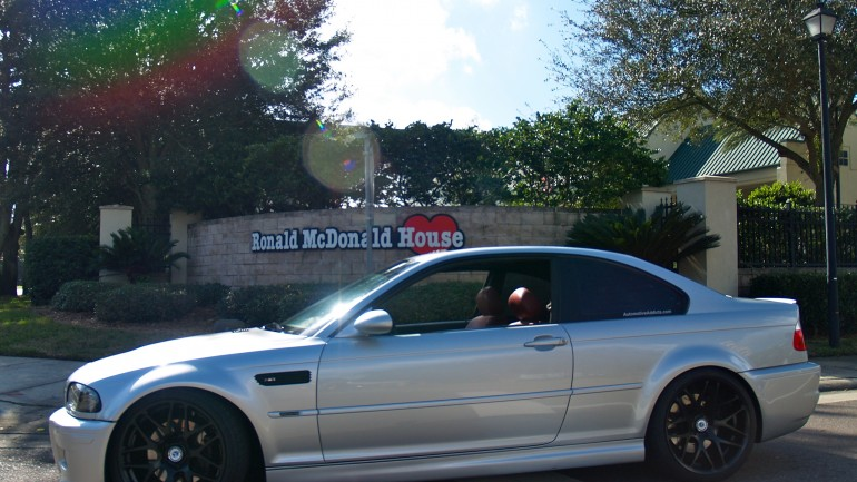 Local BMW Car Club Makes Showing to Support Ronald McDonald House