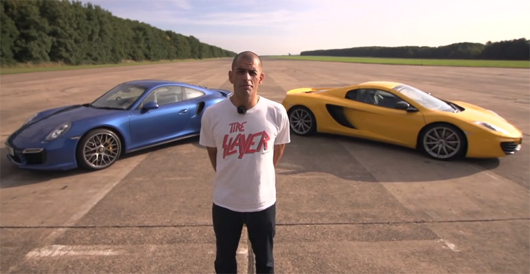 Video: Chris Harris Compares new Porsche 911 Turbo S against McLaren 12C Spider