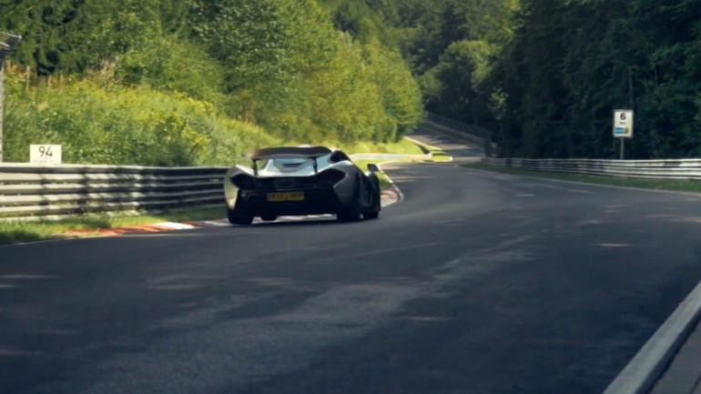 McLaren Makes Dramatic Claim of P1 Scoring Sub-7 Minute Lap Around Nurburgring: Video