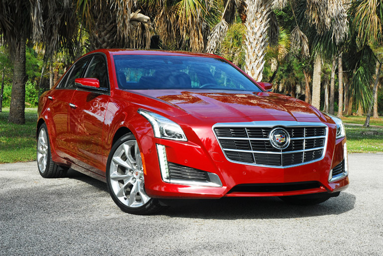 2014 Cadillac CTS   Beauty Left Done Small