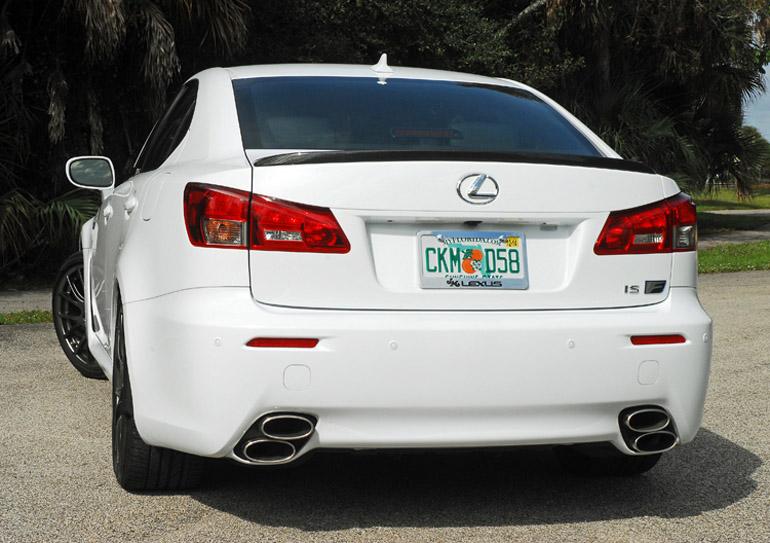 2014 Lexus ISF Beauty Rear Done Small