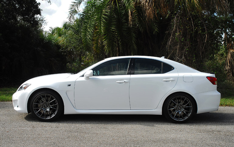 2014 Lexus IS F Review & Test Drive