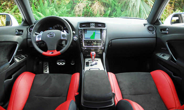 2014 Lexus ISF Dashboard Done Small