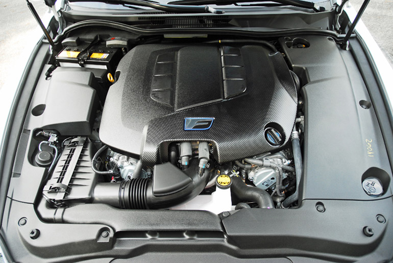 2014 Lexus ISF Engine Done Small