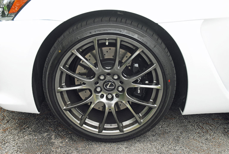2014 Lexus ISF Wheel Tire Brake Done Small