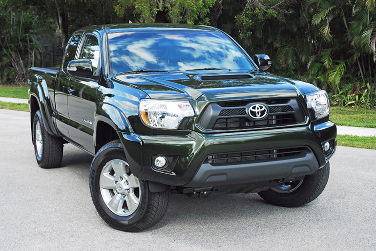 2014 Toyota Tacoma PreRunner TRD Beauty Left Done Small