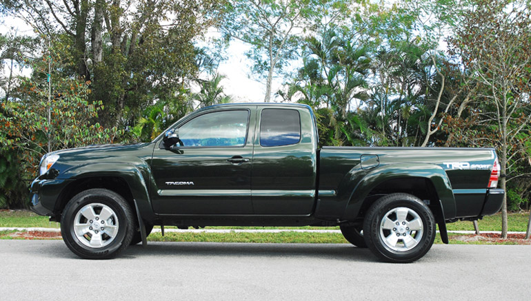 2014 Toyota Tacoma PreRunner TRD Beauty Side LA Done Small