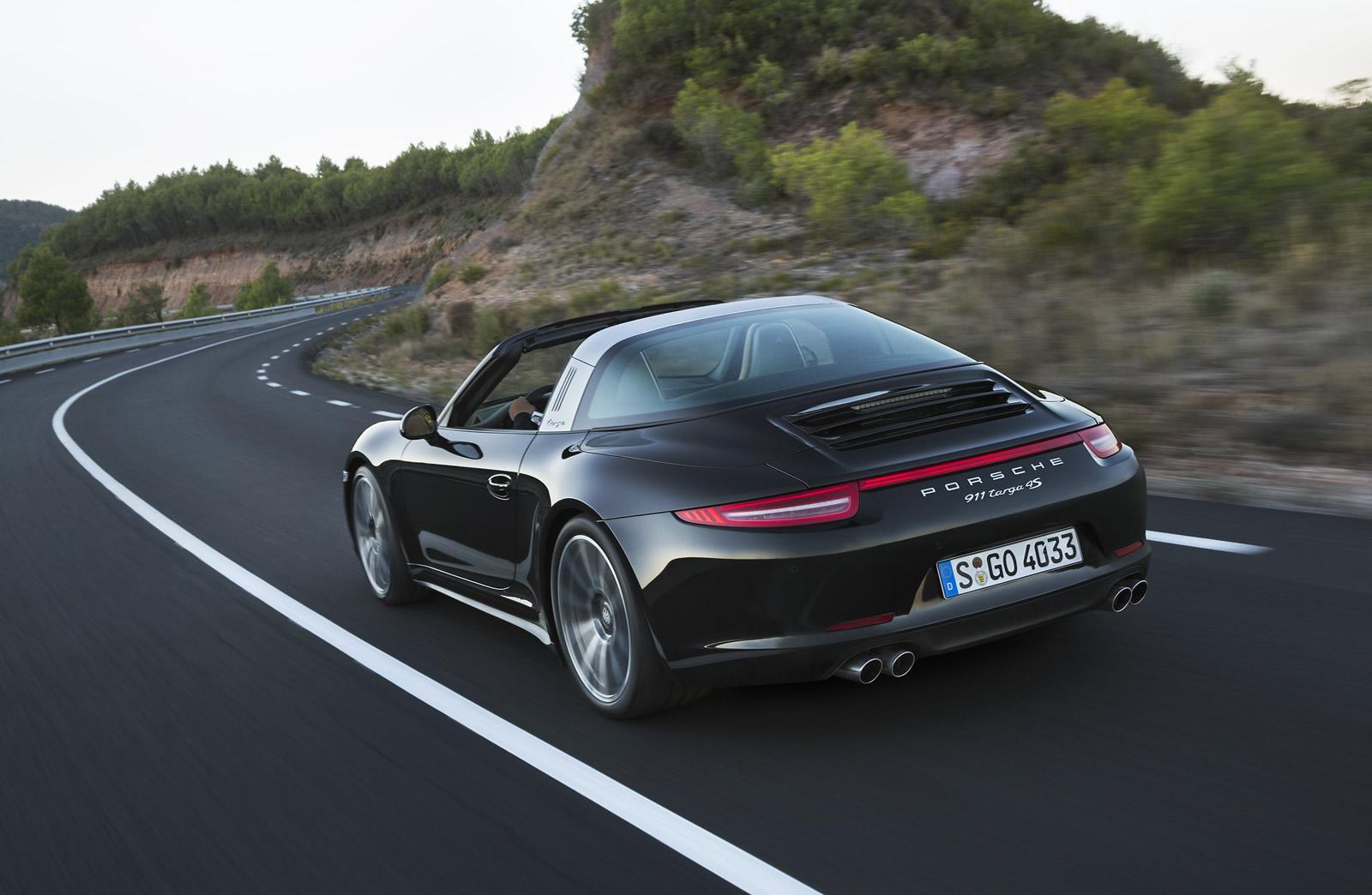 new porsche 911 targa defies most amazing roof at 2014 naias. Black Bedroom Furniture Sets. Home Design Ideas