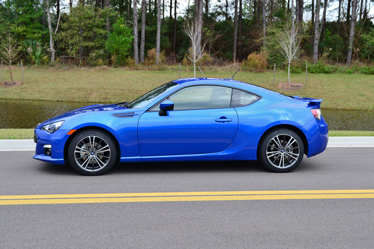 2014 subaru brz limited 6 speed manual quick spin