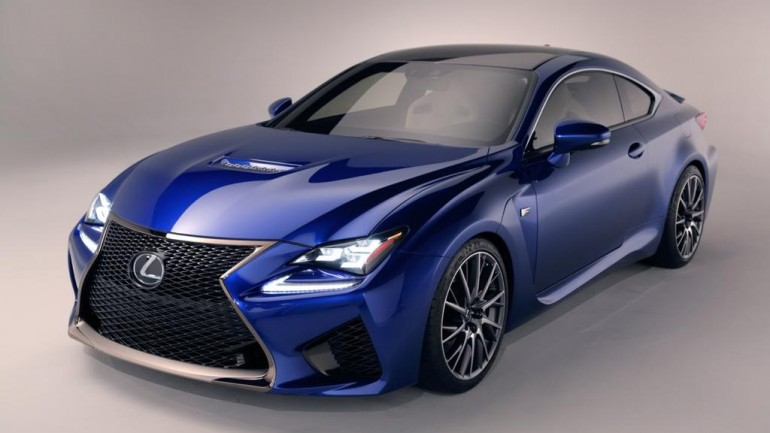 Lexus RC F Fills Void for Japanese Luxury Performance Sports Coupe