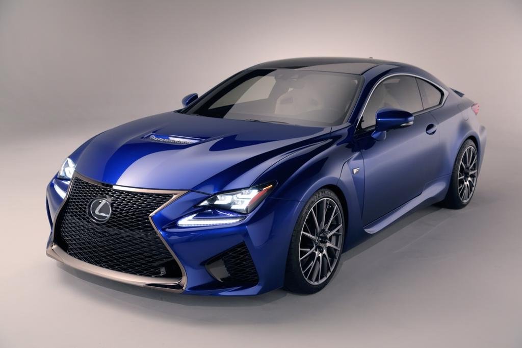 lexus rc f fills void for japanese luxury performance sports coupe. Black Bedroom Furniture Sets. Home Design Ideas