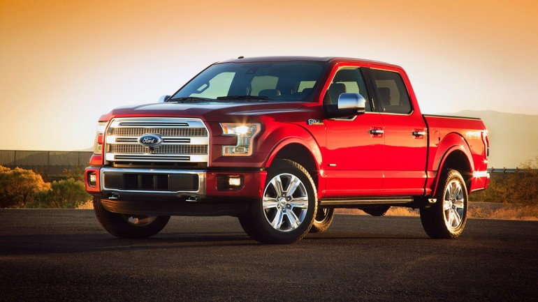 2015 Ford F-150 Loses 700 Pounds and Gets 2.7-Liter EcoBoost V6