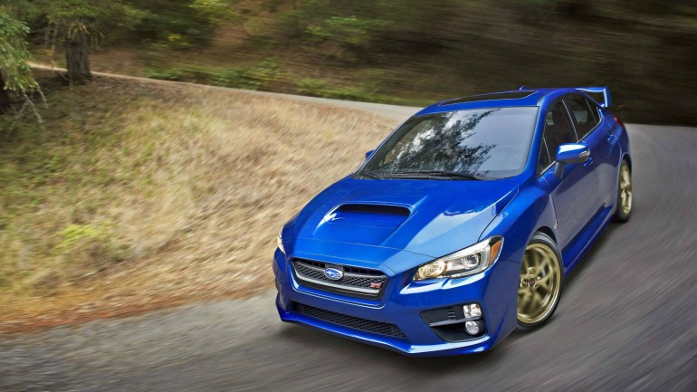 2015 Subaru WRX STi Official Images Surface