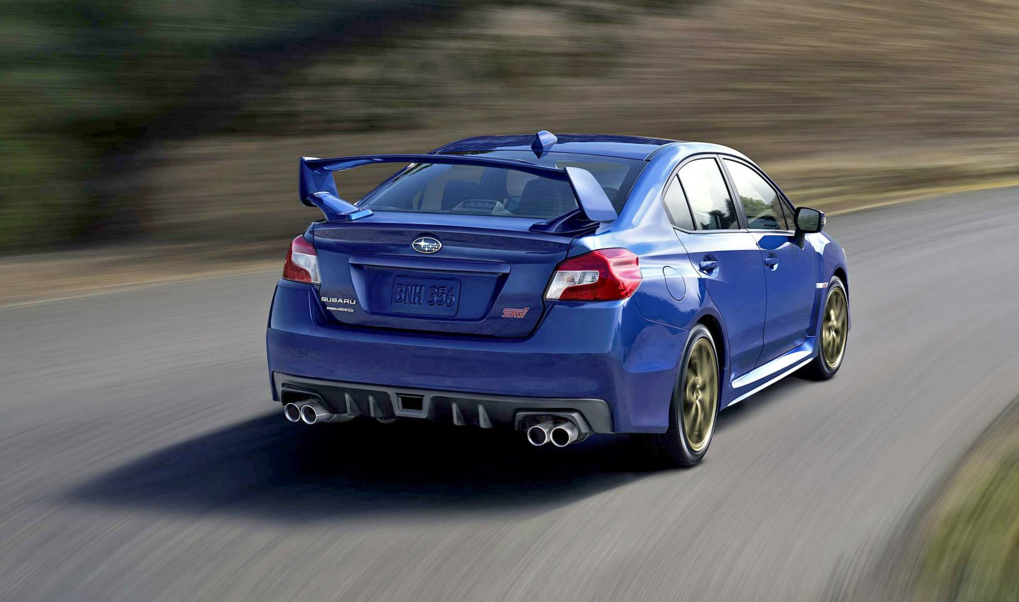 2015 Subaru WRX STi Official Images Surface