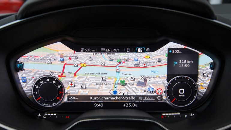 Audi Unleashes Information-Overload Dashboard at CES 2014