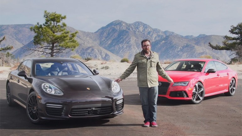 Audi RS7 vs. Porsche Panamera Turbo MT Video Finds Winner of 4-Door-Coupe-esq Monsters