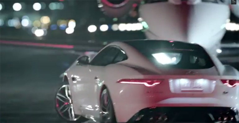 It's Good To Be Bad – Jaguar Gets Bad in new 2014 F-Type Super Bowl Commercial
