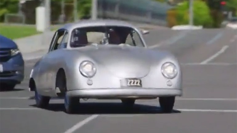 Jerry Seinfeld Scoops Up Jay Leno in 1949 Porsche 356/2 for Latest Comedians in Cars Getting Coffee