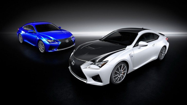 Lexus Could Offer Aggressive Carbon Fiber Package For New RC F
