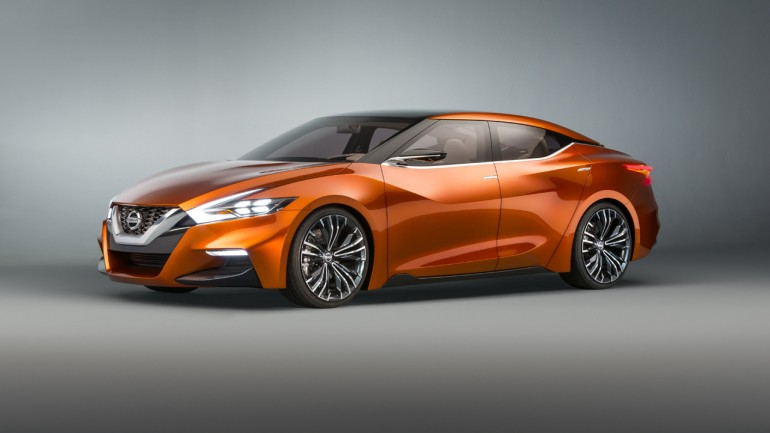 Nissan Sport Sedan Concept At 2014 NAIAS Could be Next Maxima