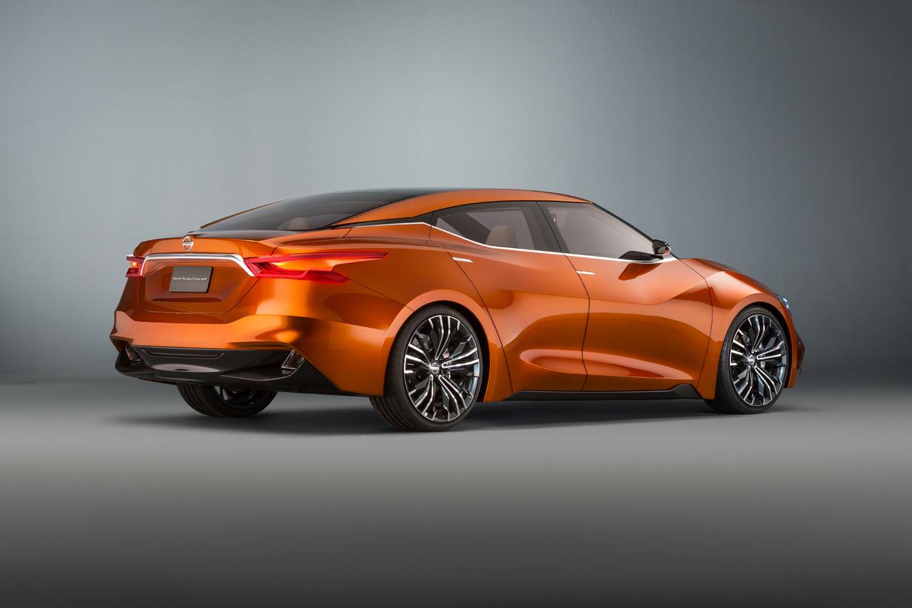 100 hot cars nissan sport sedan concept. Black Bedroom Furniture Sets. Home Design Ideas