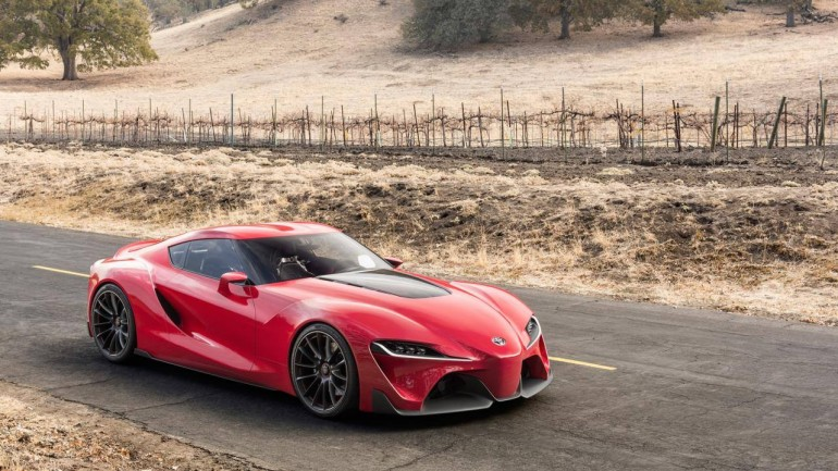 Toyota FT-1 Concept Car Gives Us Supra Dreams at 2014 NAIAS