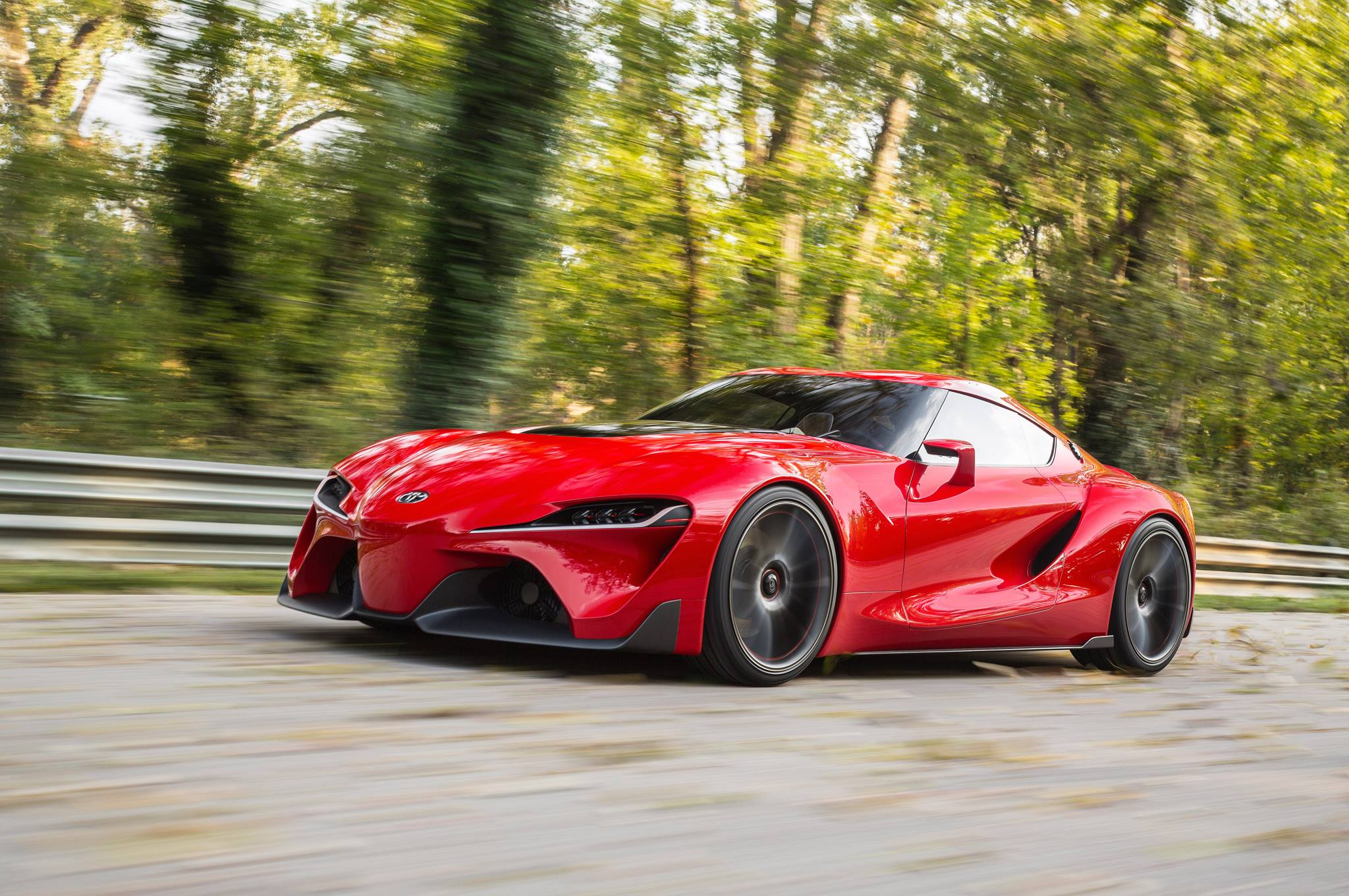Toyota Ft 1 Concept Rolling