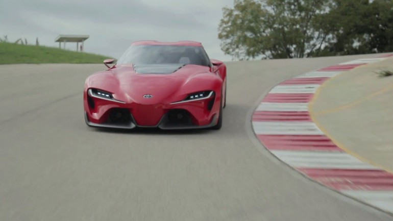 The Return is Coming – Toyota FT-1 Concept Behind The Scenes: Video