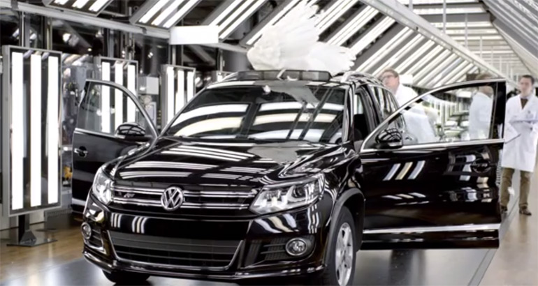 2014 Volkswagen Super Bowl XLVIII Commercial Gets Wings: Video
