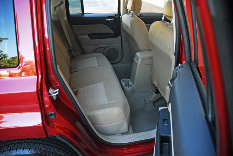 2014 Jeep Patriot Latitude Rear Seats Done Small