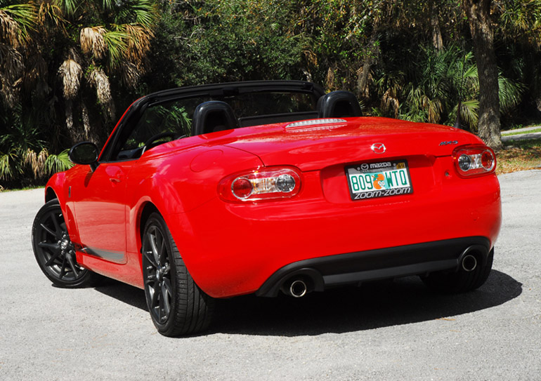 2014 Mazda MX5 Beauty Rear Done Small