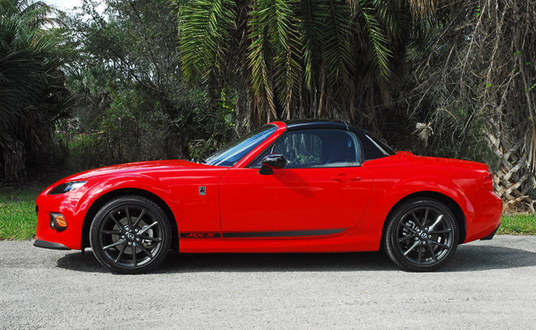 2014 Mazda MX5 Beauty Rear TopUp Done Small