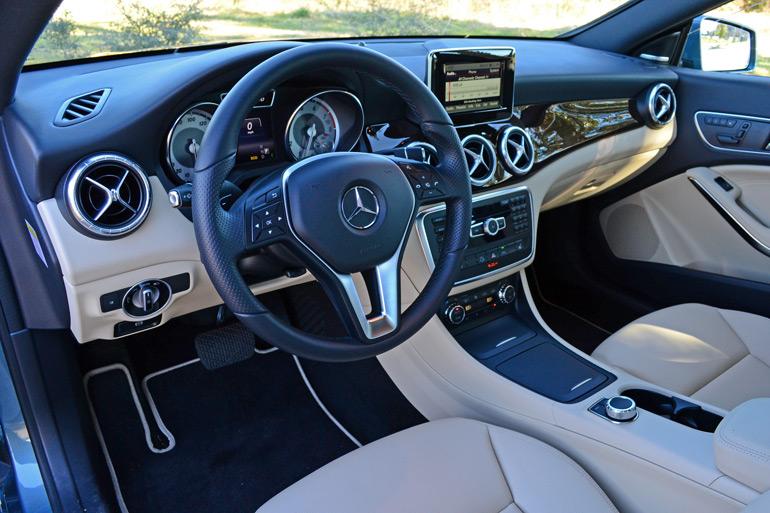 2014 Mercedes Benz Cla250 Dashboard